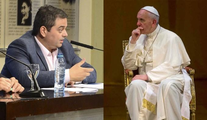 El Papa Francisco recibe a Triaca en el Vaticano