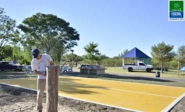 NUEVA PISTA DE BAILE EN EL CAMPING MUNICIPAL