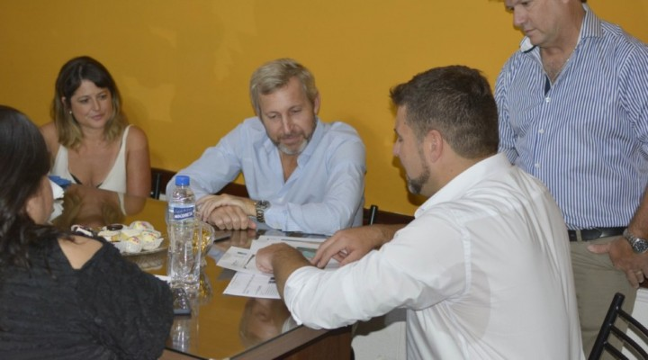 EL INTENDENTE RECIBIÓ AL MINISTRO FRIGERIO