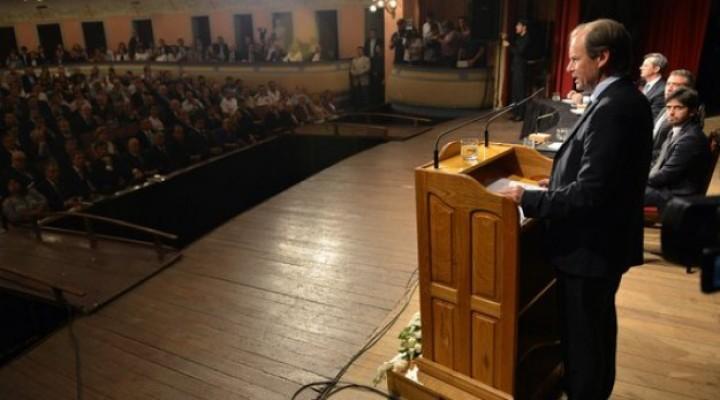 Bordet inaugura un nuevo período de sesiones en la Legislatura