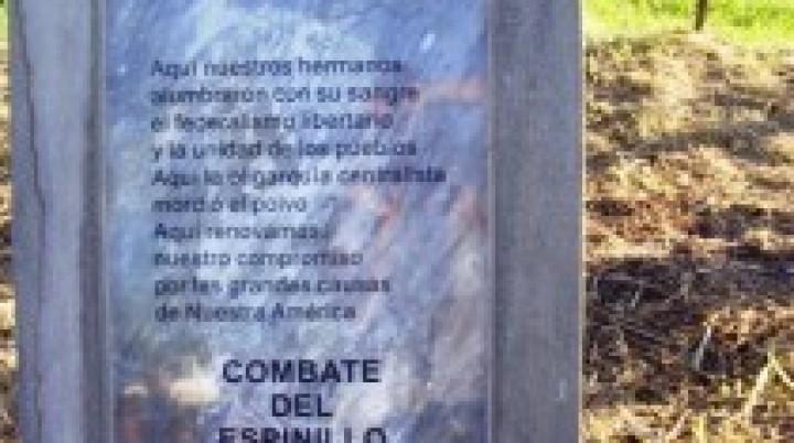 Entre Ríos nació en El Espinillo