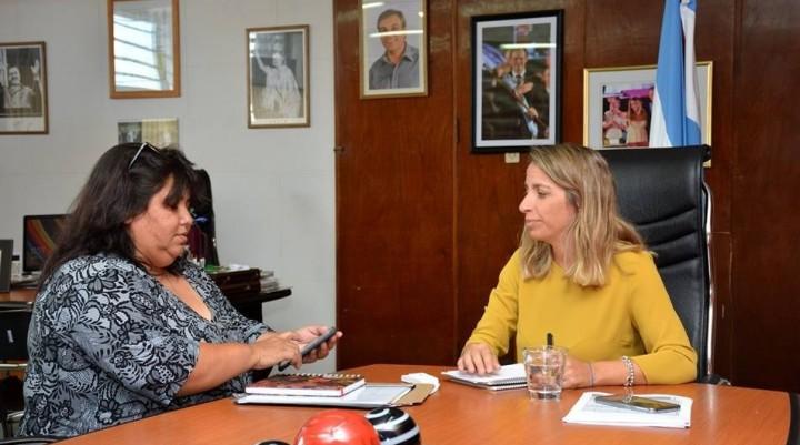 NANCY MIRANDA SE REUNIÓ CON LAURA STRATTA