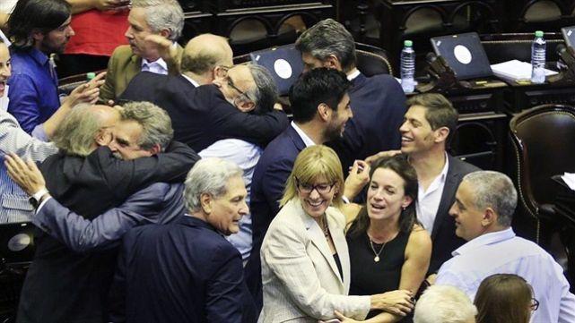También en el Congreso el PJ busca su unidad