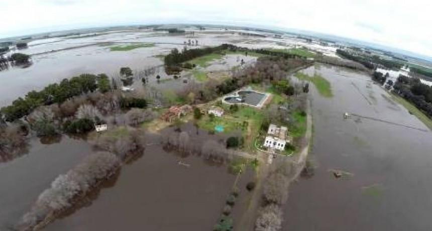 """El pronóstico afectaría al norte de Entre Ríos  Meteorólogos advierten sobre una catástrofe para la región del Litoral: """"Hay centros urbanos que van a desaparecer"""""""