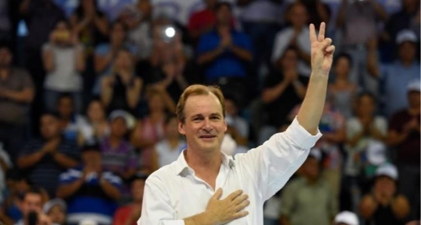 """Bordet encabezará un gran frente electoral para """"devolverle la esperanza a los entrerrianos"""""""