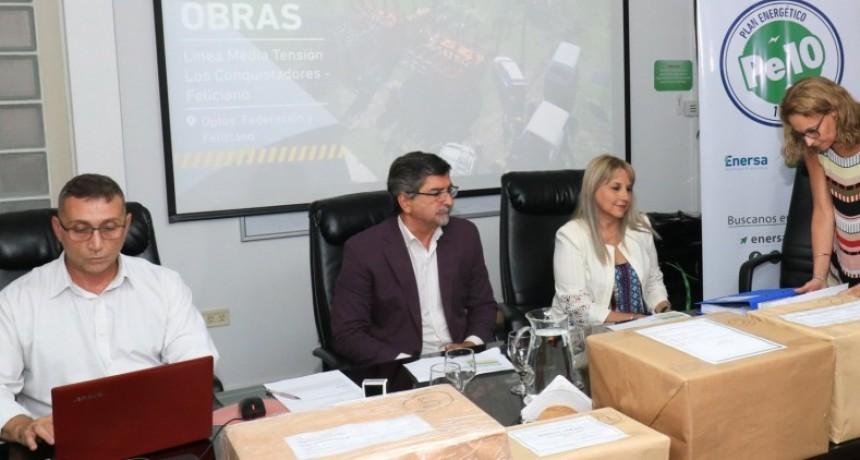 Se abrieron las ofertas para las obras complementarias del cierre eléctrico del norte entrerriano