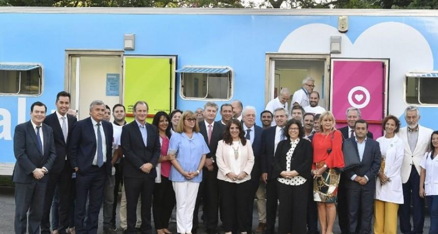 Bordet participó del lanzamiento del Programa Remediar