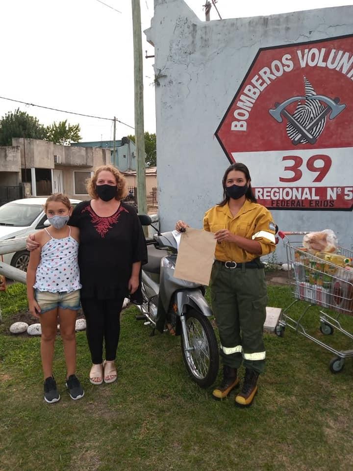 Gran Rifa Solidaria de Bomberos Voluntarios de Federal.  Entregaron los Premios