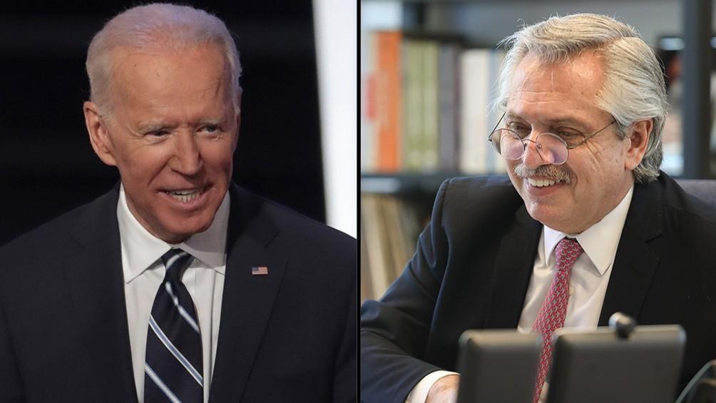 MEDIOAMBIENTE  Joe Biden invitó a Alberto Fernández a la Cumbre de Líderes sobre el Clima