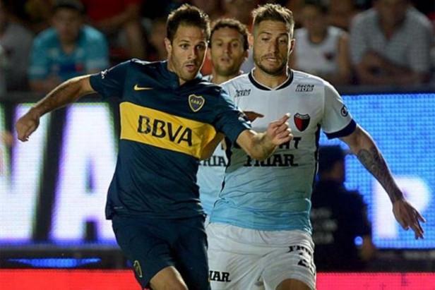 En Santa Fe a Boca se le terminó la racha ganadora y empató con Colón