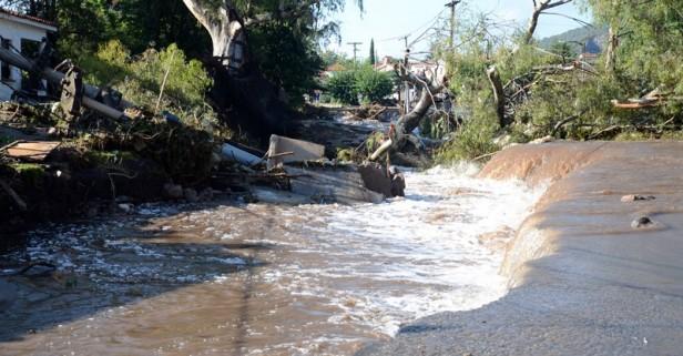 Córdoba: El agua comenzó a bajar y el clima dio una tregua a los pueblos inundados