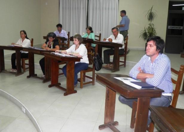 Los concejales sesionaron por primera vez en este 2015