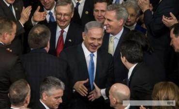 En el Congreso, Netanyahu presionó a Estados Unidos para que no acuerde con Irán