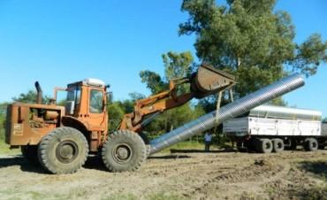 Obras complementarias en caminos de Colonia Federal