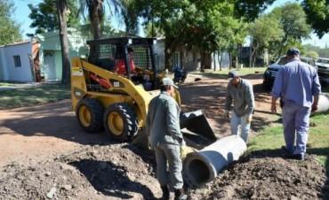 La Municipalidad intensifica los trabajos en los barrios