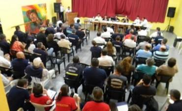 Los Bomberos Voluntarios de Entre Ríos se reunieron en Hasenkamp