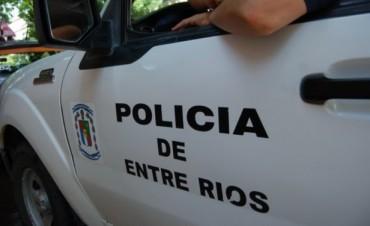 Rápido accionar de la Policía local para recuperar una moto robada durante la madrugada