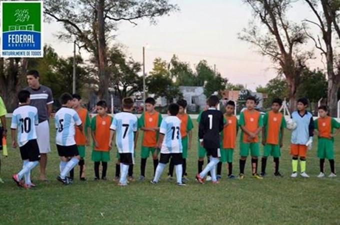 Comenzó el Torneo Infanto- Juvenil organizado por la Municipalidad de Federal