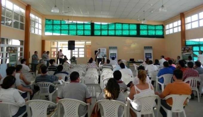El Municipio junto al Inta promovieron una jornada de horticultura