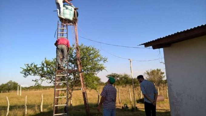 El Municipio realizó tareas de mantenimiento y corte de pasto  en el costurero municipal de Colonia Federal