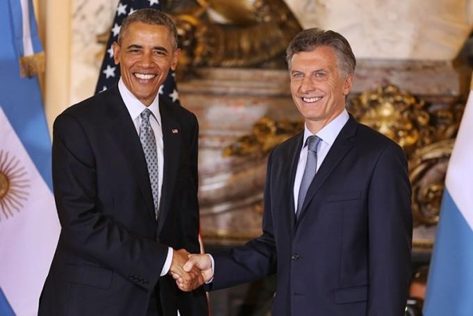 Macri destacó el liderazgo de Obama y dijo que su visita