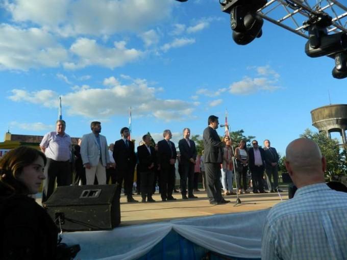 El Presidente Municipal participó de los festejos por el 103º Aniversario de Bovril