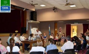 El Municipio participó de un encuentro  interinstitucional del COPNAF