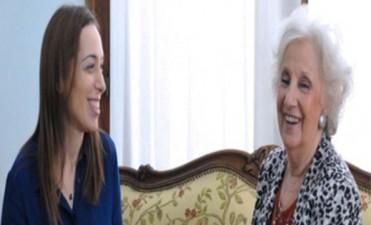 Vidal le ofreció a Estela de Carlotto ayuda en la búsqueda de los nietos
