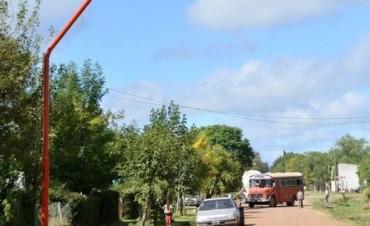 El Municipio lleva adelante distintas obras de alumbrado público