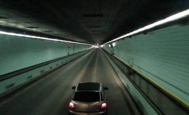Este martes se hará la apertura de sobres para cambiar la luminaria interior del Túnel Subfluvial
