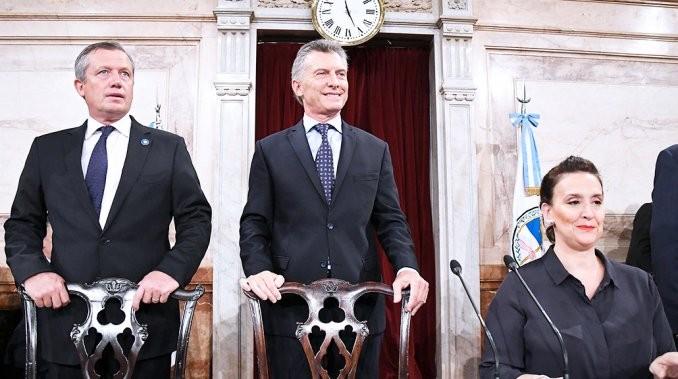 Macri inauguró las sesiones ordinarias en el Congreso