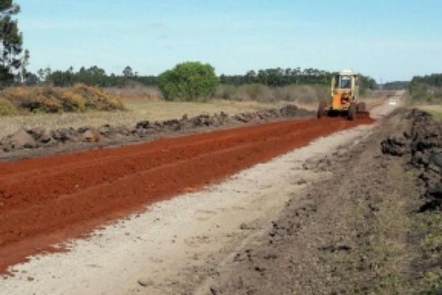 Recuperan ripios del norte entrerriano afectados por las abundantes lluvias