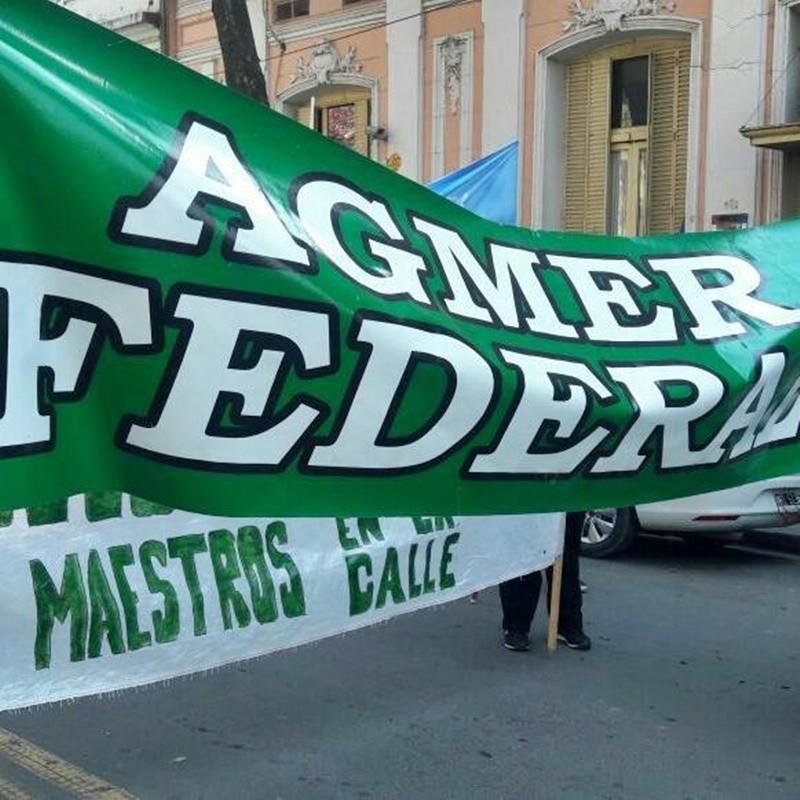 Desde las seccional Agmer Federal afirman que el gobierno apuesta a la persecución y al apriete