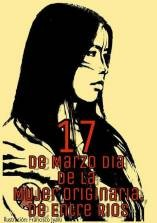Este 17 de marzo - Se conmemora el día de la mujer originaria en Entre Ríos
