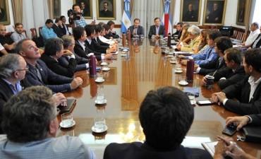 Bordet despejó dudas a intendentes de Cambiemos