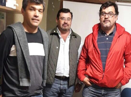 LOS CONCEJALES SE REUNIERON CON EL COORDINADOR DEL PROGRAMA NACIONAL DE VIVIENDAS