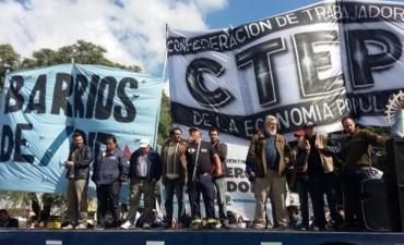 Paro de la CGT  - La CTA y los movimientos sociales se suman al paro general del 6 de abril