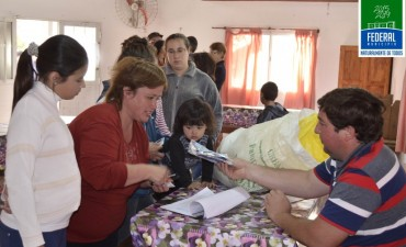 CONTINÚA LA ENTREGA DE SEMILLAS DEL PROGRAMA HUERTA FAMILIAR