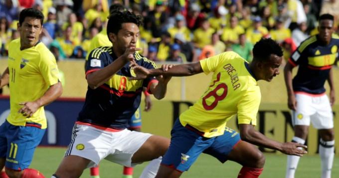 Colombia ganó en Ecuador y se mete en el Mundial