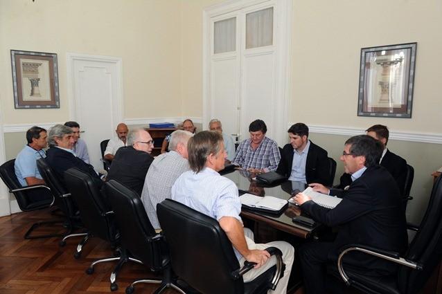 Bordet declaró la emergencia agropecuaria por un año y en consenso con los productores
