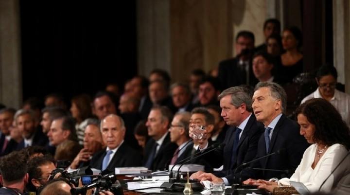 Las frases más destacadas del discurso que pronunció Mauricio Macri en el Congreso
