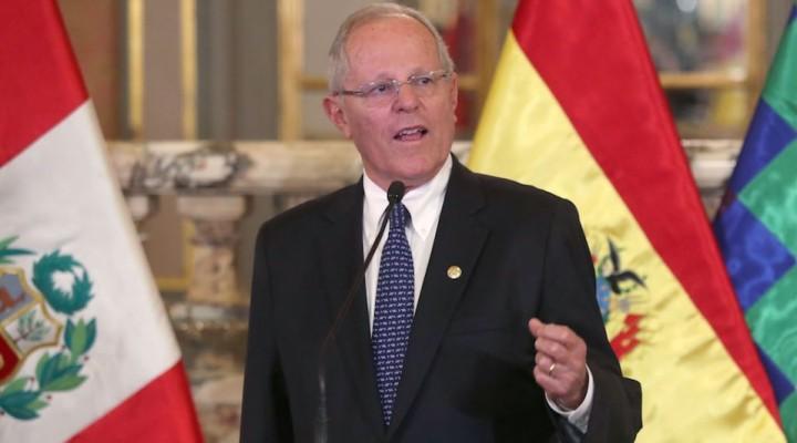 Renunció Pedro Pablo Kuczynski, presidente de Perú