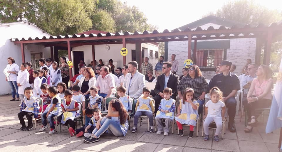 CICLO LECTIVO 2019. ACTO EN EL CIMARRON