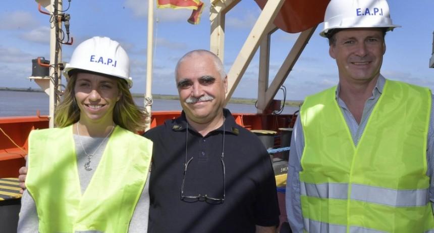 Con el puerto de ultramar de Ibicuy vuelve a funcionar a pleno el sistema portuario entrerriano