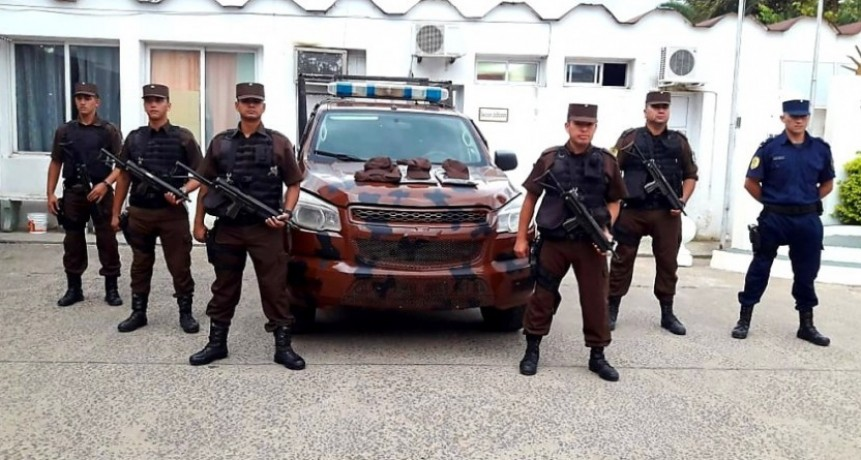 La Jefatura de Policía puso en funcionamiento de móvil para la Guardia Especial