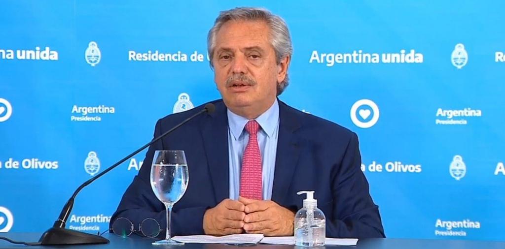 Alberto Fernández extendió la cuarentena hasta que termine Semana Santa