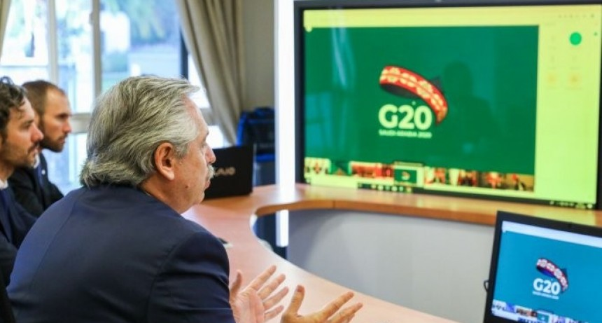 Alberto Fernández convocó a líderes del G20 a crear un Fondo de Emergencia Humanitaria