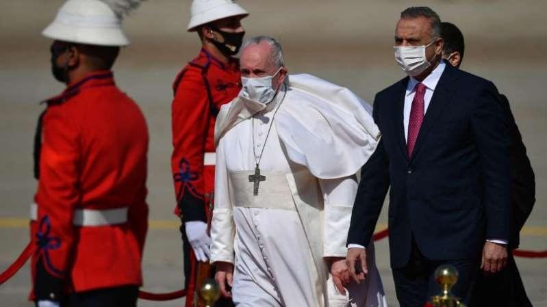 LA VISITA DEL PAPA A IRAK  El Papa rechazó que los países extranjeros impongan sus