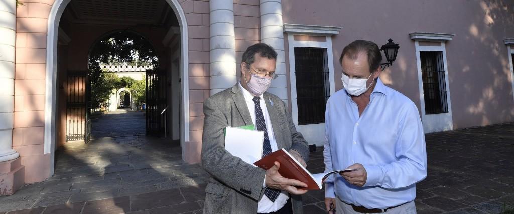 Nación y provincia van a recuperar el Palacio San José como espacio histórico, cultural y turístico