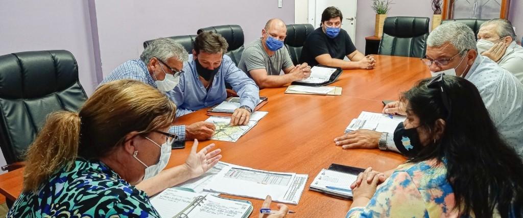 Evaluaron trabajos de conservación sobre la red vial del departamento Federal